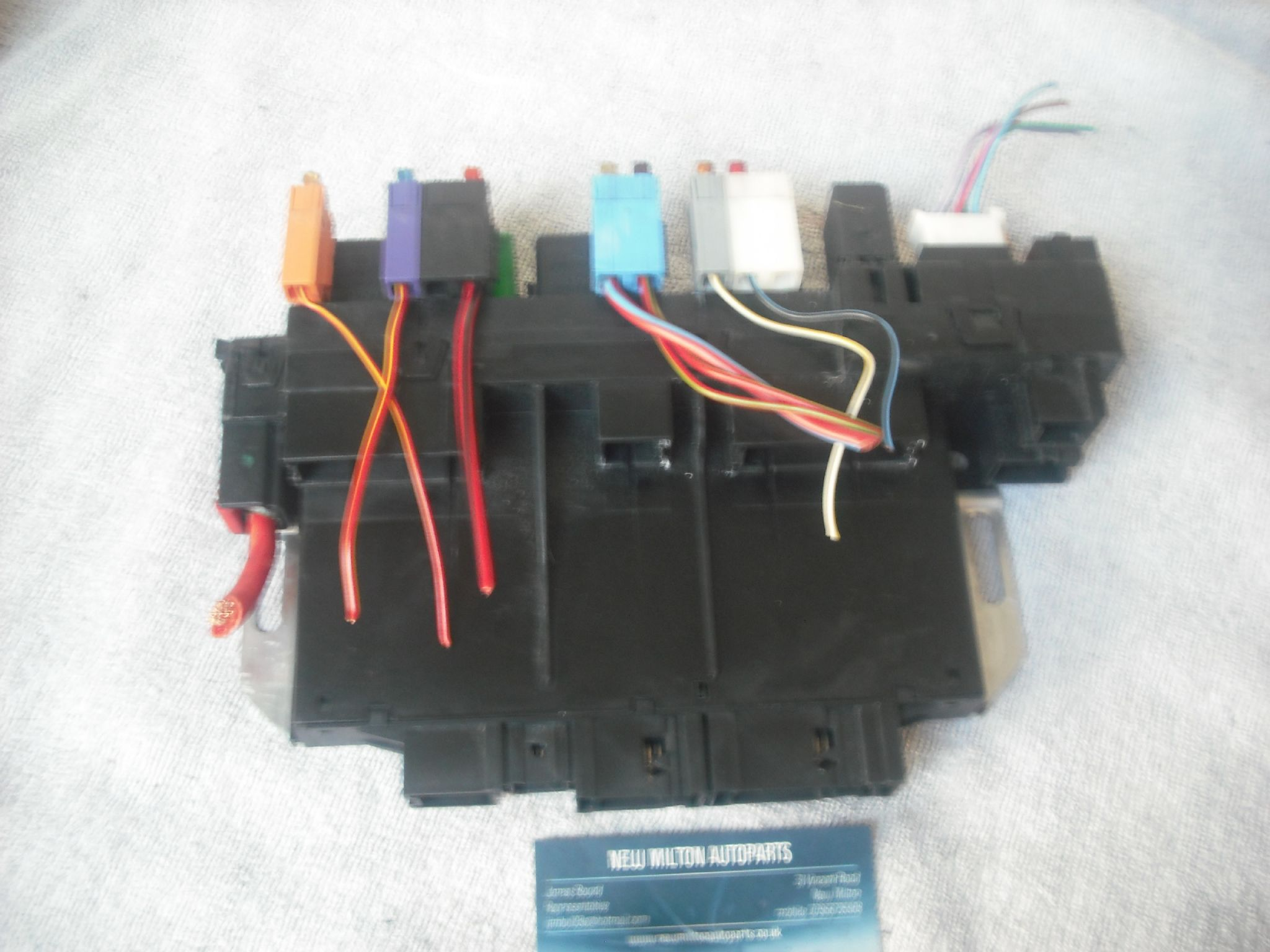 A Genuine Mercedes Benz W220 S Class S320 Fuse Box Sam Unit Module 2011 Volvo S60 A0315451732